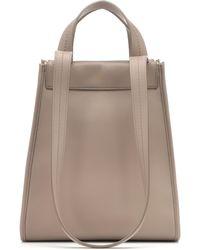 f072462fb Max Mara - Reversible Leather Shoulder Bag - Lyst