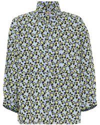 Marni - Printed Cotton Shirt - Lyst
