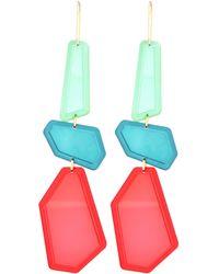 Isabel Marant - Resin Drop Earrings - Lyst