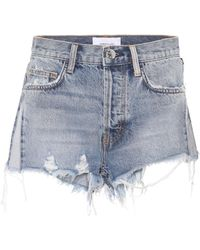 Current/Elliott - Jeansshorts The Ultra High - Lyst