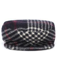 Isabel Marant - Plaid Wool Hat - Lyst
