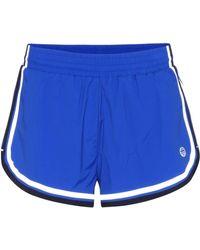 Tory Sport - Side-striped Shorts - Lyst