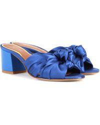 Etro - Satin Sandals - Lyst