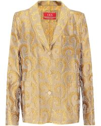 F.R.S For Restless Sleepers - Jacquard Shirt - Lyst