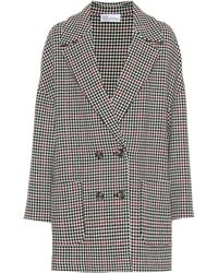 RED Valentino - Houndstooth Double-breasted Jacket - Lyst
