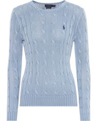 Polo Ralph Lauren - Cotton Cable-knit Sweater - Lyst