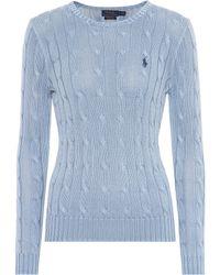 Polo Ralph Lauren - Cotton Cable-knit Jumper - Lyst