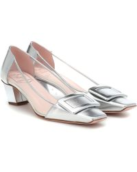 Roger Vivier - Exclusive To Mytheresa – Belle Vivier Pvc And Leather Court Shoes - Lyst