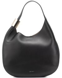 Jimmy Choo - Stevie Leather Shoulder Bag - Lyst