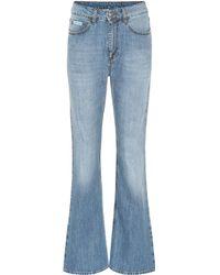 ALEXACHUNG - Flared Jeans - Lyst