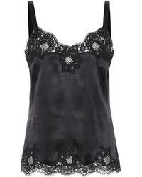 Dolce & Gabbana | Silk-blend Camisole | Lyst