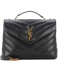 Saint Laurent - Small Loulou Monogram Shoulder Bag - Lyst