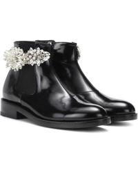 Christopher Kane | Embellished Chelsea Boots | Lyst