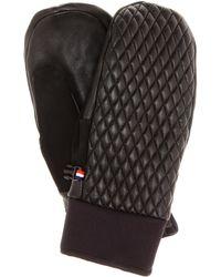 Fusalp - Athena Leather Ski Mittens - Lyst