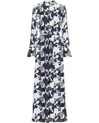 Equipment - Printed Silk Dress - Lyst