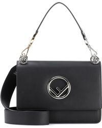 Fendi - Century Leather Shoulder Bag - Lyst