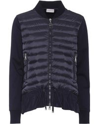 Moncler - Maglia Down Jacket - Lyst