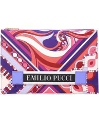 Emilio Pucci - Printed Pouch - Lyst