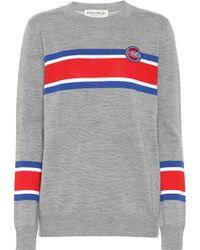 Être Cécile - Boyfriend Striped Wool Sweater - Lyst
