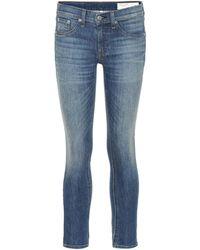 Rag & Bone - Jeans skinny Ankle - Lyst