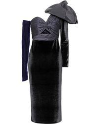 Johanna Ortiz - Malagueña Velvet Dress - Lyst