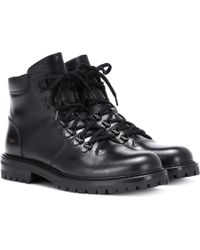 Common Projects - Bottines en cuir Hiking - Lyst