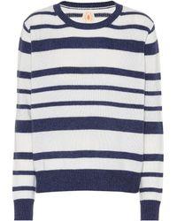Jardin Des Orangers - Striped Cashmere Sweater - Lyst
