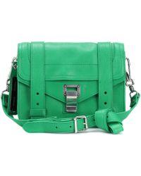 Proenza Schouler   Ps1 Mini Crossbody Leather Shoulder Bag   Lyst
