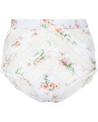 Zimmermann - Slip bikini Heathers a stampa floreale - Lyst