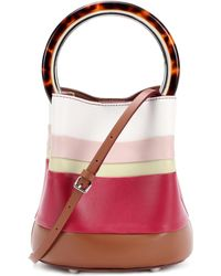 Marni - Pannier Leather Bucket Bag - Lyst