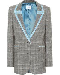 Racil - Blazer Okiya de lana de cuadros - Lyst