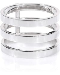Repossi - Berbere 18kt White Gold Ring - Lyst
