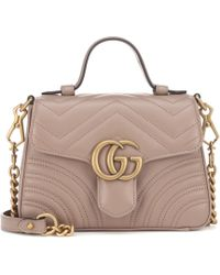 e8e646530 Gucci - Bolso al hombro GG Marmont Mini - Lyst