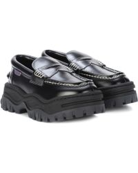 Eytys - Angelo Platform Leather Loafers - Lyst