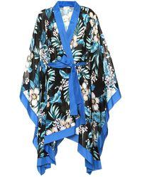 Diane von Furstenberg - Kimono a stampa in misto cotone - Lyst