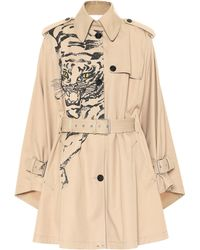 Valentino - Tiger Re-edition Cotton-blend Coat - Lyst