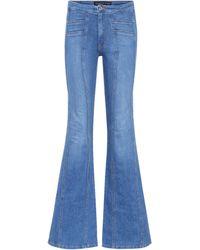 Veronica Beard - Farrah High-waisted Flare Jeans - Lyst