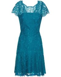 Diane von Furstenberg - Fifi Lace Dress - Lyst