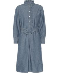 Tory Burch - Deneuve Chambray Shirt Dress - Lyst