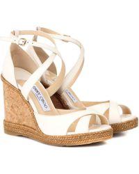 Jimmy Choo - Alanah 105 Platform Sandals - Lyst