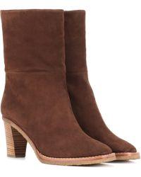 Gabriela Hearst - Helen Suede Ankle Boots - Lyst