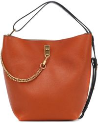 Givenchy - Gv Leather Bucket Bag - Lyst