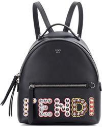 embellished logo backpack - Black Fendi zbIWZU9