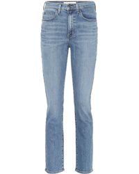 Proenza Schouler - High-waisted Jeans - Lyst