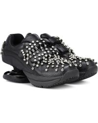 Christopher Kane - Black Z-coil Edition Legend Sneakers - Lyst