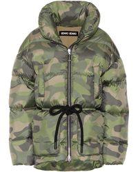 Ienki Ienki - Mishko Camouflage Puffer Jacket - Lyst