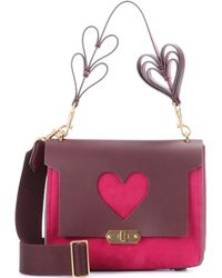 Anya Hindmarch - Bathurst Leather Shoulder Bag - Lyst