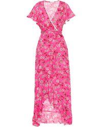 Poupette - Exclusive To Mytheresa – Joe Floral-printed Wrap Dress - Lyst