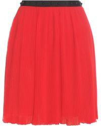 Giamba - Embellished Pleated Miniskirt - Lyst