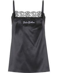 Dolce & Gabbana | Lace-trimmed Silk Satin Camisole | Lyst